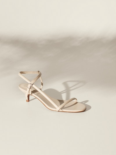 Strappy Kitten Heel Sandals