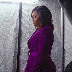 Michelle Obama 'Becoming' Feminist documentary (via Netflix press site)