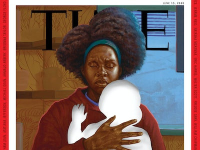 A new cover of TIME features a black mother holding a child.