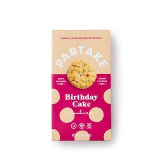 Crunchy Birthday Cake Cookies