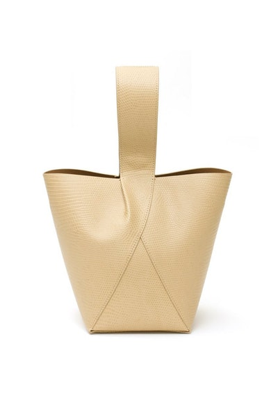 Nº49 Cross Handle Bucket Bag