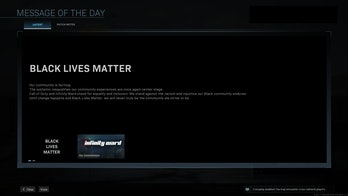 Call of Duty black Lives matter