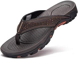 Gubarun Mens Sport Flip Flops