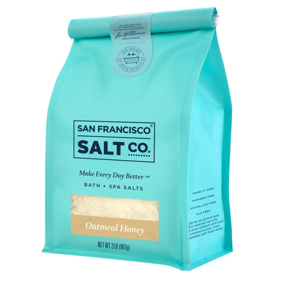 San Francisco Salt Company Oatmeal Honey Bath Salts
