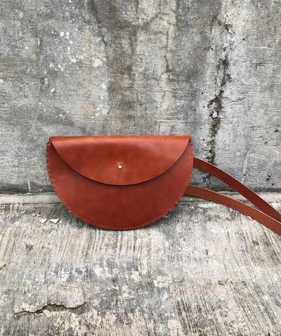 "10"" Half Moon Waist/Crossbody Bag"