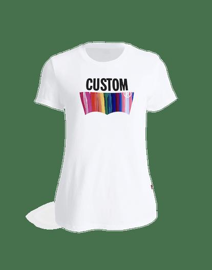 Women's Customizable Blank Perfect Tee Shirt