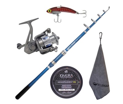 SteelShad Elite Complete Fishing Kit