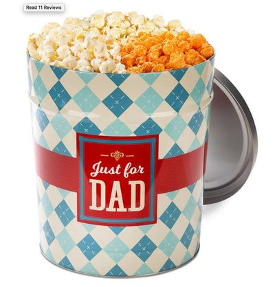 Popcornopolis 3.5 Gallon Father's Day Popcorn Tin