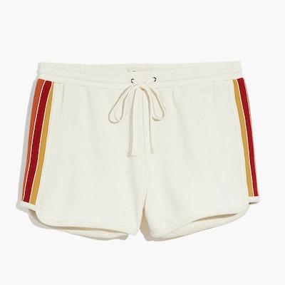 Madewell Rainbow-Inset Sweatshorts