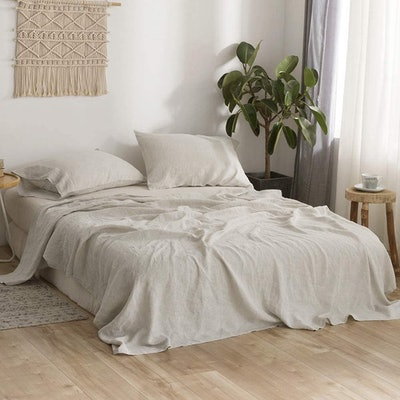 Simple&Opulence Pure Linen Sheet Set