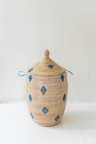 Griot Basket With Dot Pattern