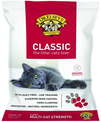 Dr. Elsey's Premium Classic Clumping Cat Litter (40 Pounds)
