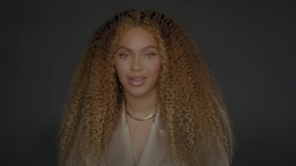 Beyoncé addressed the Class of 2020 in YouTube's virtual commencement, where she talked about how the class of 2020 can change the world.