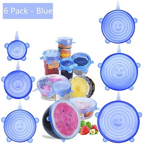 Be-one Silicone Stretch Food Covers (6-Pack)