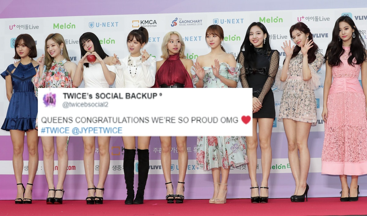 These 20 tweets about TWICE's first Billboard 200 entry are full of pride.
