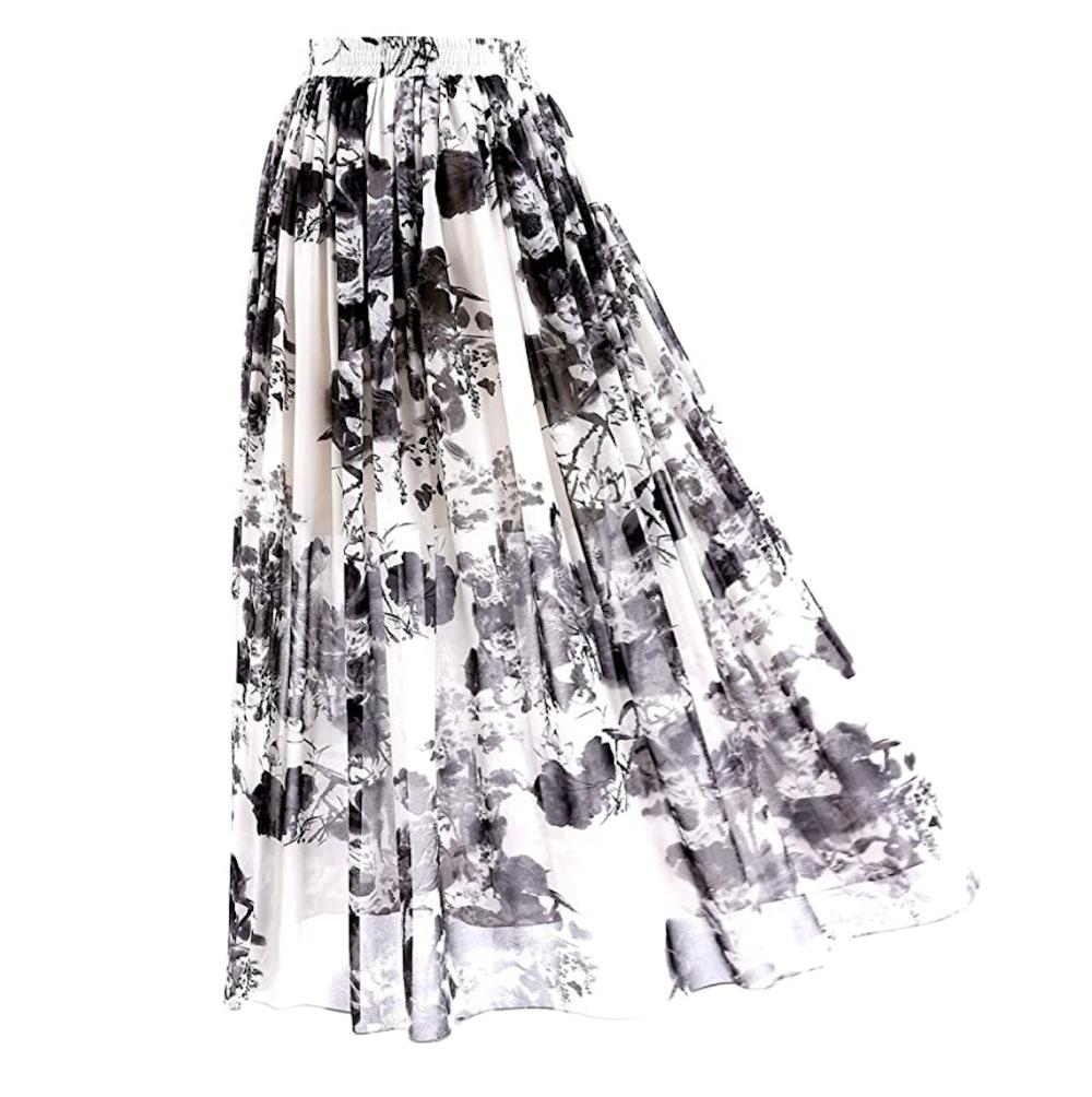 Topdress Chiffon Maxi Skirt