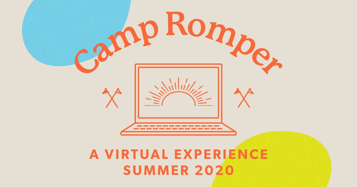 Join Us At Camp Romper, A Free & Super Fun Virtual Experience For Kids