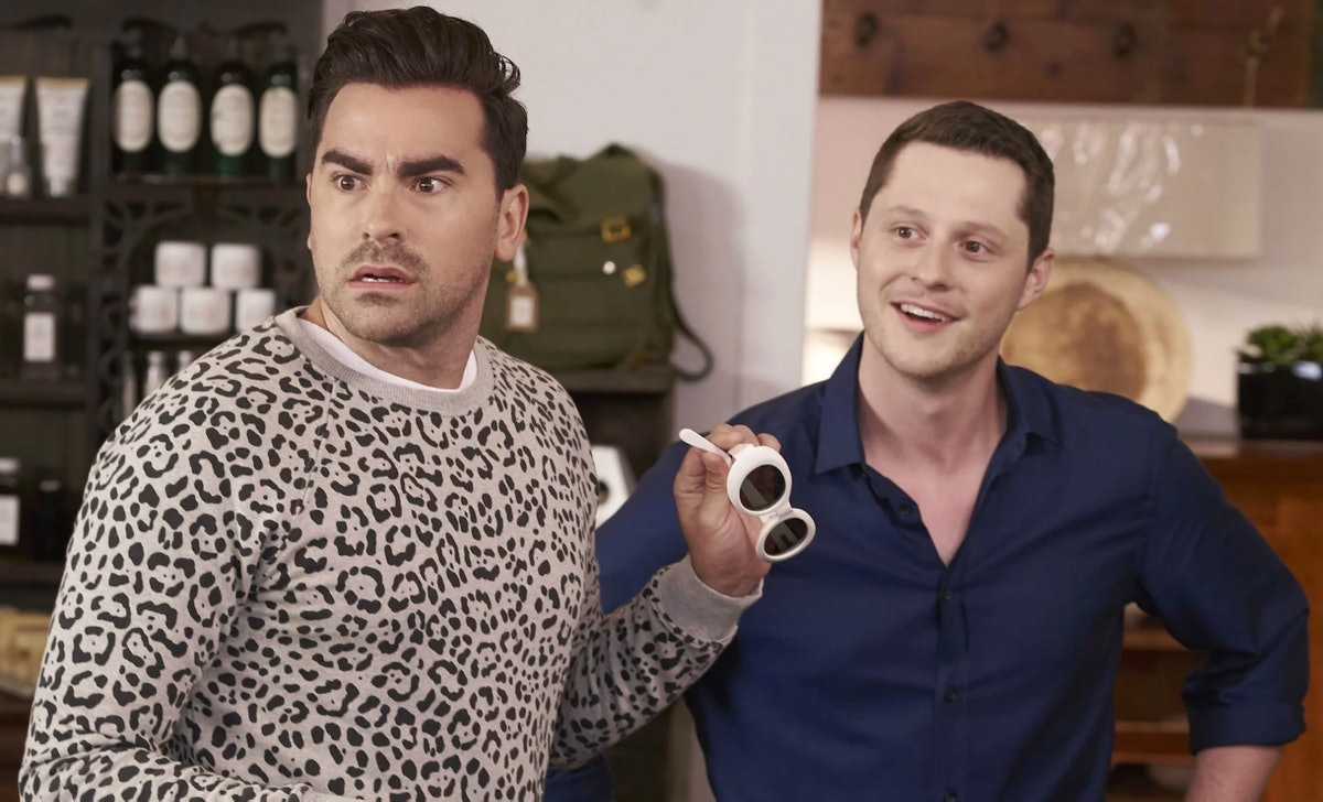 The 'Schitt's Creek' cast was surprised by Mariah Carey during their YouTube commencement performanc...