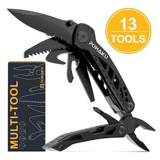 POHAKU 13-in-1 Portable Multi Tool