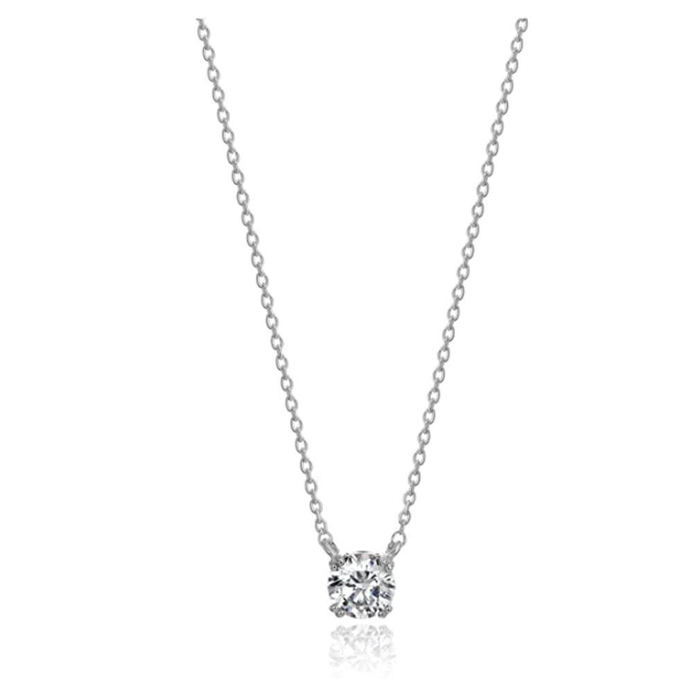 Amazon Collection Cubic Zirconia Pendant Necklace