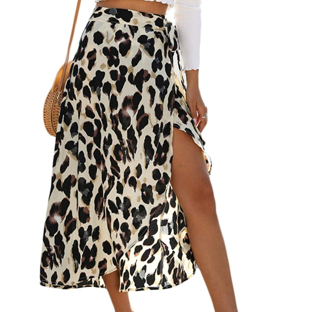 Newchoice Leopard Midi Skirt