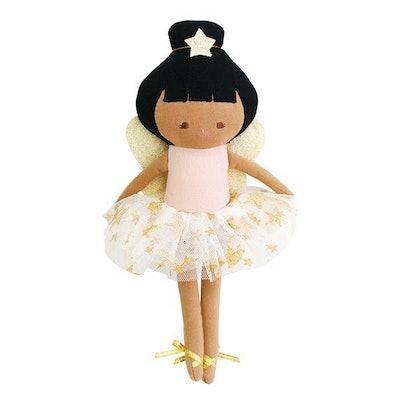 Alimrose Baby Fairy In Pink Linen