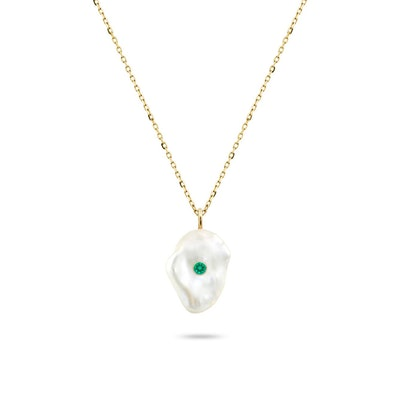 Kenna Pearl Pendant Necklace