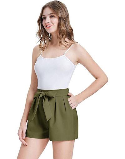 GRACE KARIN Bowknot Shorts With Pockets