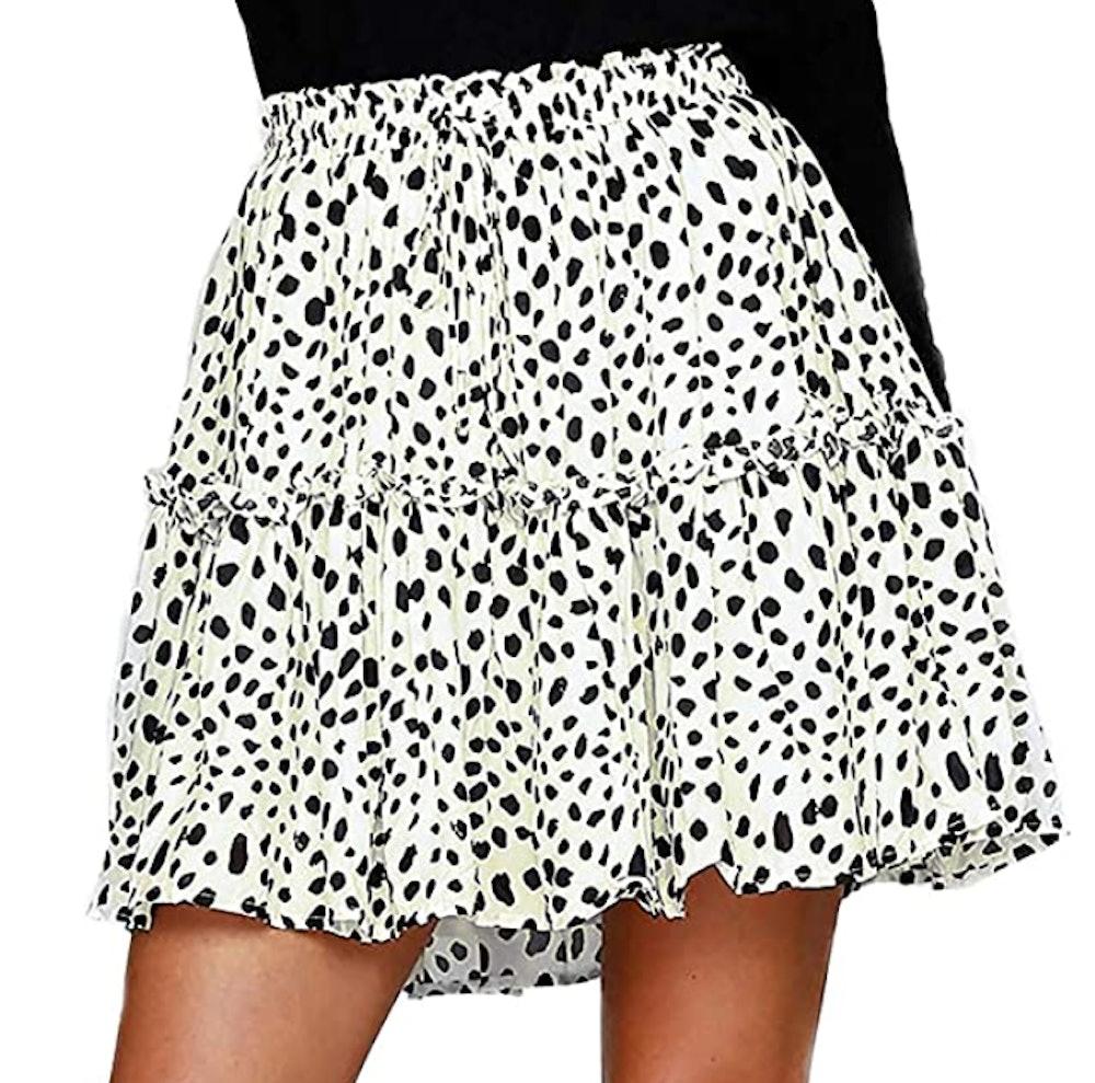 Alelly Ruffle Mini Skirt