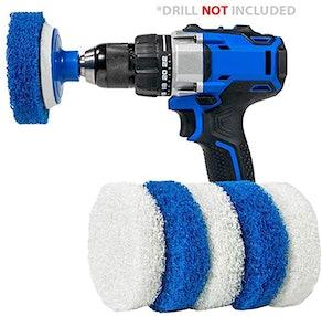 RotoScrub Multi-Purpose Drill Brush Kit (7-Pack)