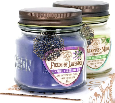 Way Out West Aromatherapy Scented Candles (2-Pack)