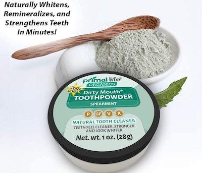 Primal Life Organics Dirty Mouth Organic Tooth Powder