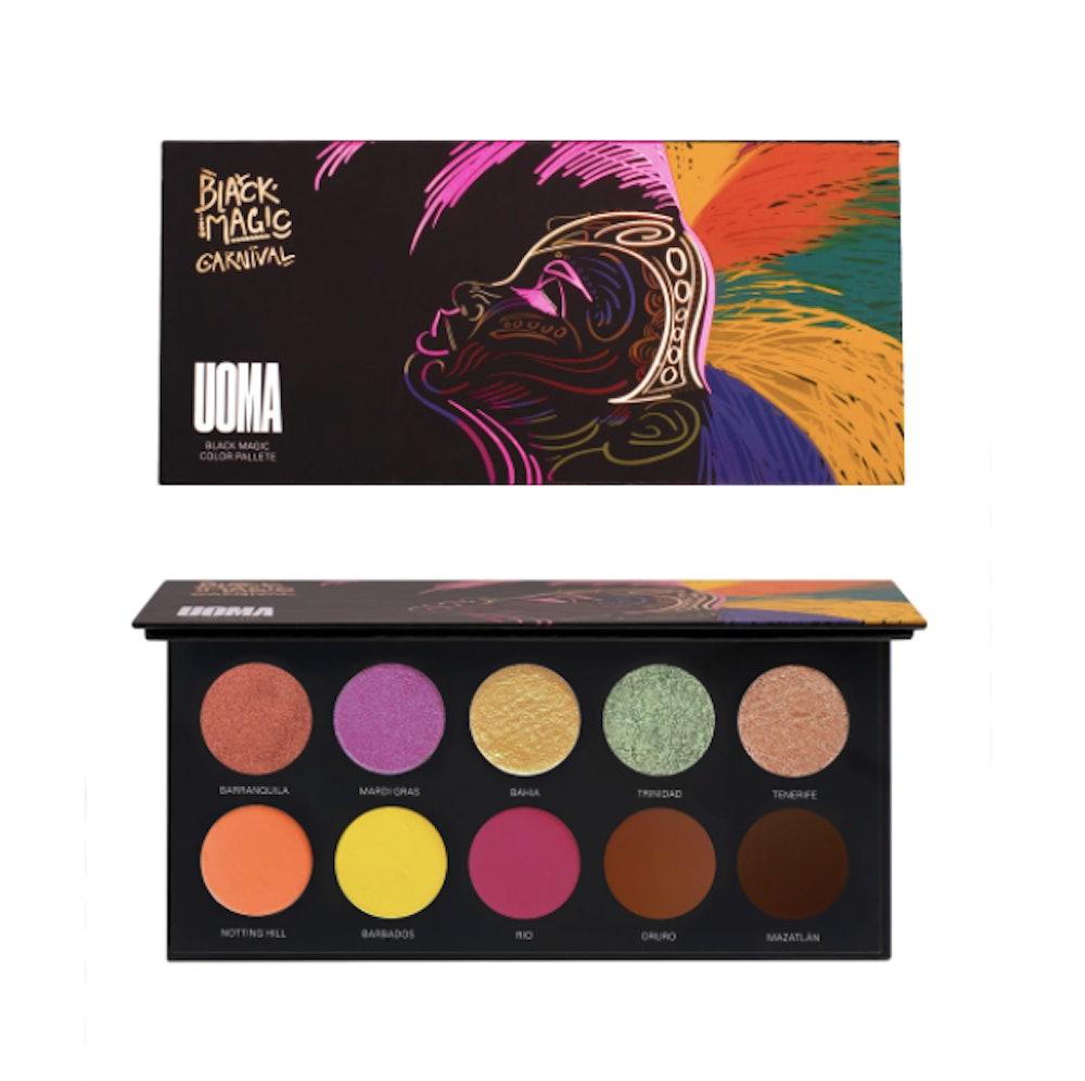 Uoma Beauty Black Magic Carnival Color Palette