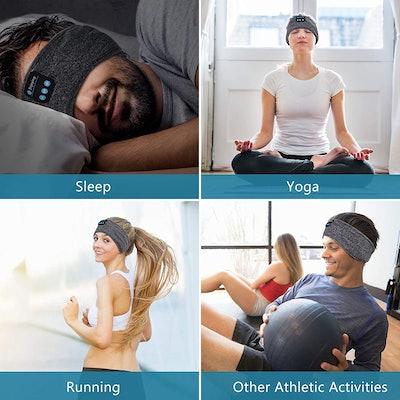 Perytong Wireless Sleep Headphones Headband