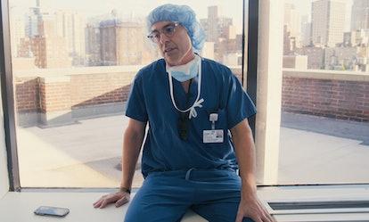 DR. DAVID LANGER in episode 106 of 'LENOX HILL' via Netflix Media press site
