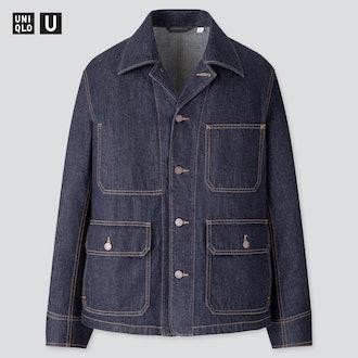 Uniqlo Men U Denim Work Jacket