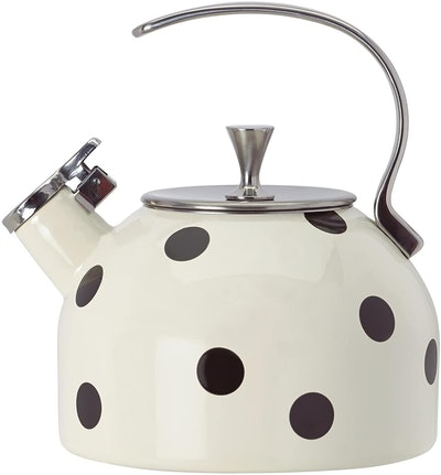 Kate Spade New York Deco Dot Black Tea Kettle (2.5 Quarts)