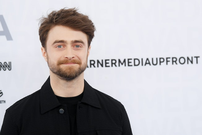Daniel Radcliffe of TBS's Miracle Workers attends the WarnerMedia Upfront 2019 arrivals on the red carpet at The Theater at Madison Square Garden on May 15, 2019 in New York City.