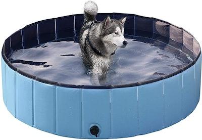 Yaheetech Foldable Dog Pool