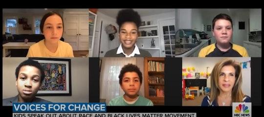 Hoda Kotb spoke to some kids about Black Lives Matter.