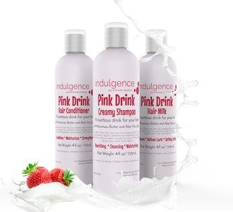 Pink Drink Shampoo Conditioner Hair Milk