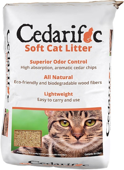 Cedarific Natural Cedar Chip Litter (23 Pounds)
