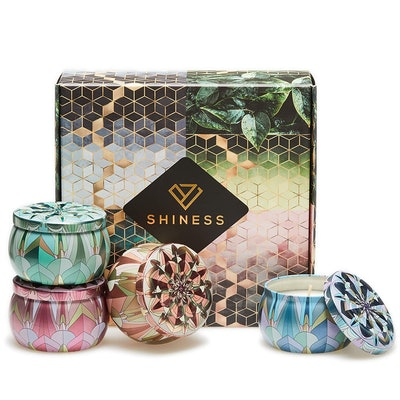 Shiness Aromatherapy Candles Gift Set (4-Pack)