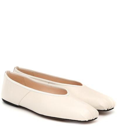 Ballet Leather Ballet Flats