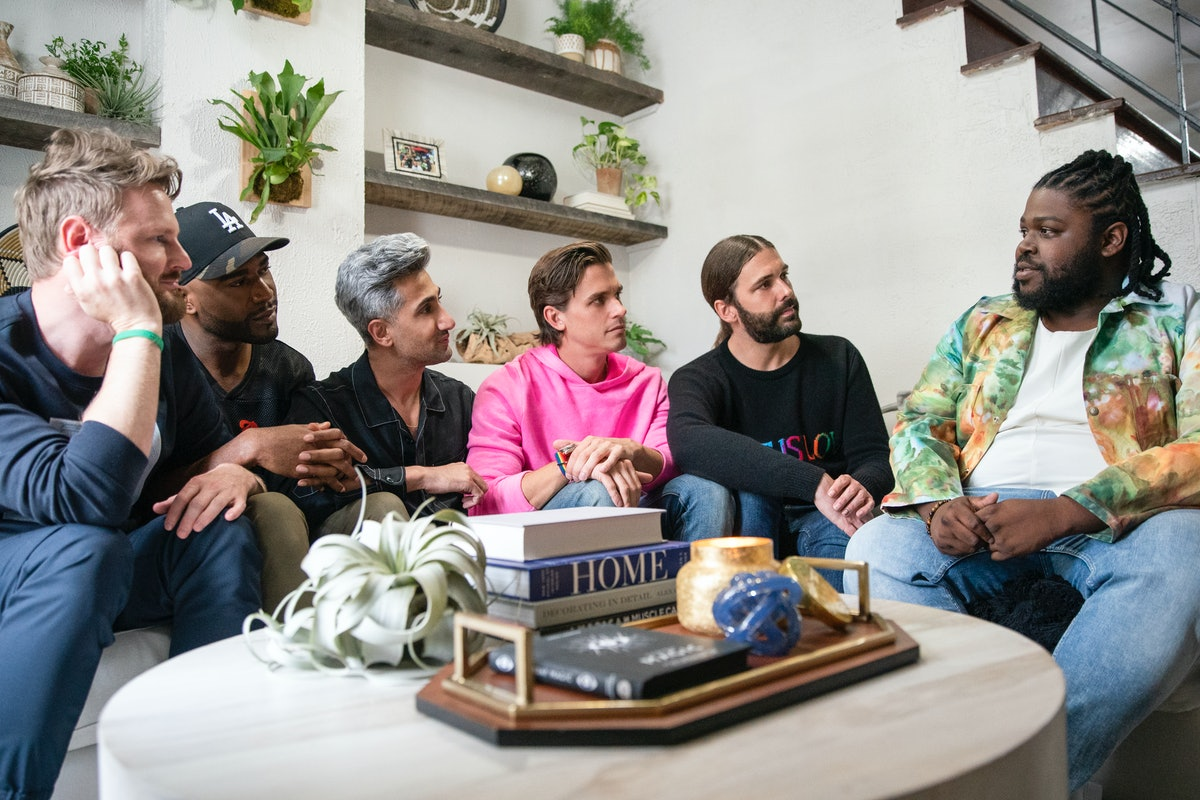 Tyreek and the Fab Five on 'QUeer Eye'