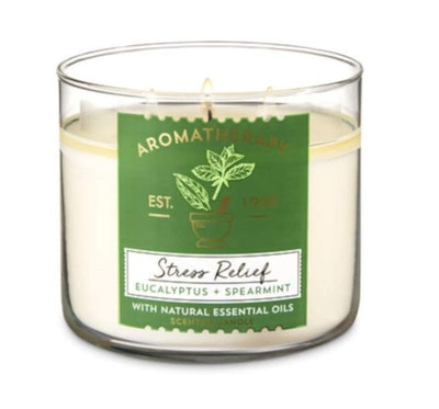 Bath & Body Works Aromatherapy Stress Relief Candle