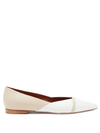 Colette Point-Toe Leather Flats