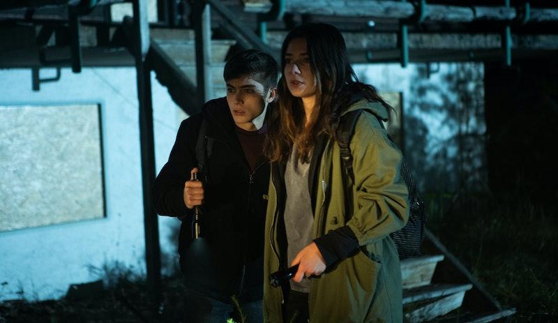 Federico Russo as Mauro and Margherita Morchio Daria in 'Curon' Season 1