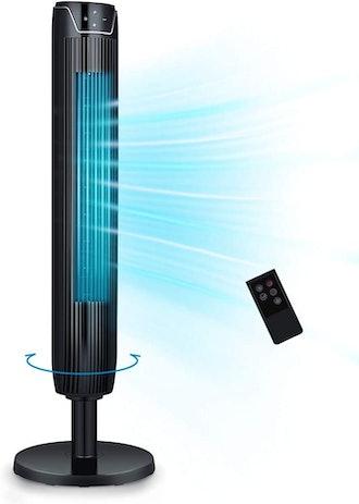 KopBeau Tower Fan 42-Inch Quiet Cooling Fan