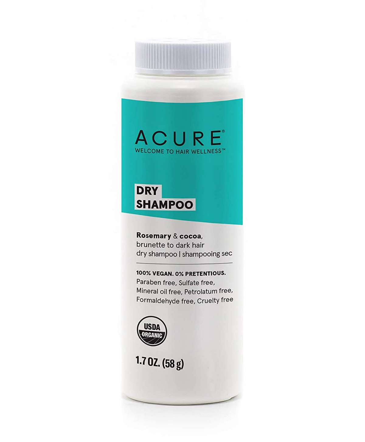 ACURE Dry Shampoo - Brunette To Dark Hair